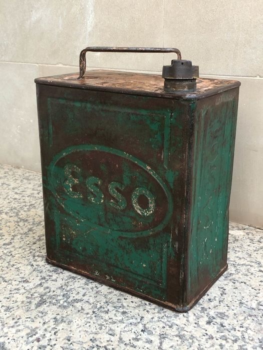 Oil can - Lata aceite Esso - Esso - 1920-1930
