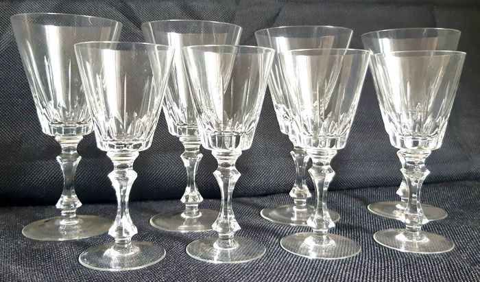 Waterford - Small Wine Glasses (8) - Kristal