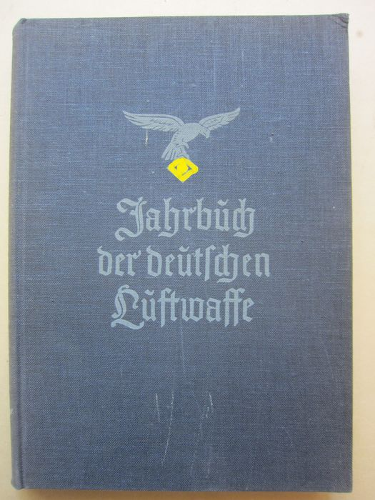 Germany - Luftwaffe, Air Force - Book, RARE! Lot of two books, Yearbook of the Luftwaffe, illustrated book  1937 - 1937