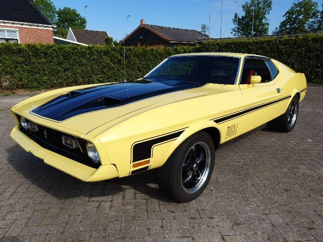 Ford - Mustang MACH 1 | Q Code - 1972