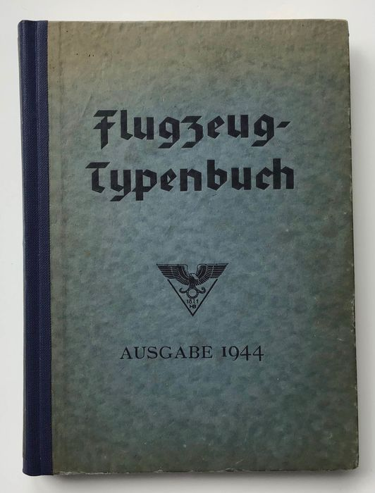 Germany - Air Force - Book, Airplane type book. Handbook of the German aviation and accessories industry. Compilation - 1944