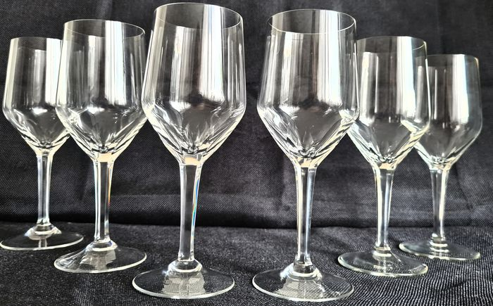 Waterford - Red Wine Glasses (7) - Crystal