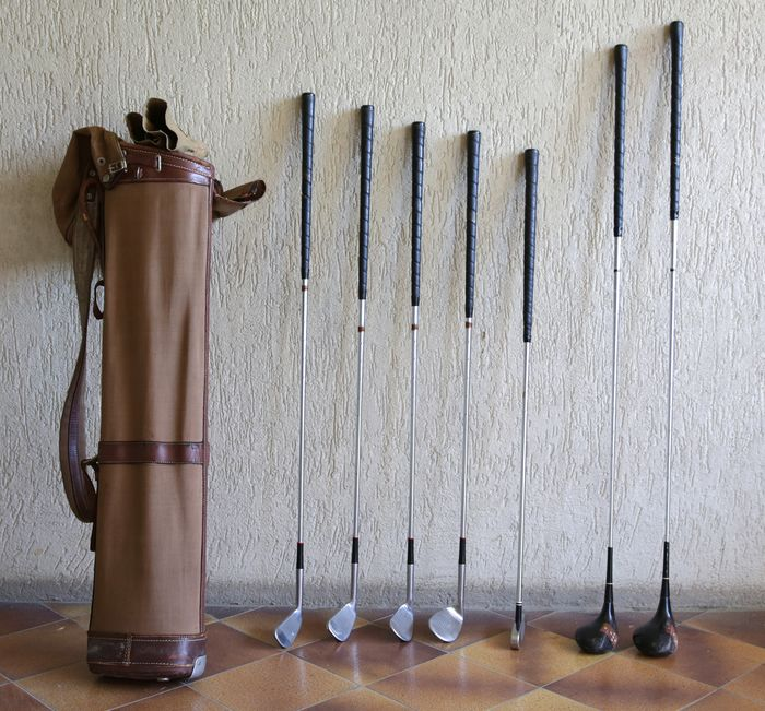 Historic Golf Set (12) - various - First half 20th century