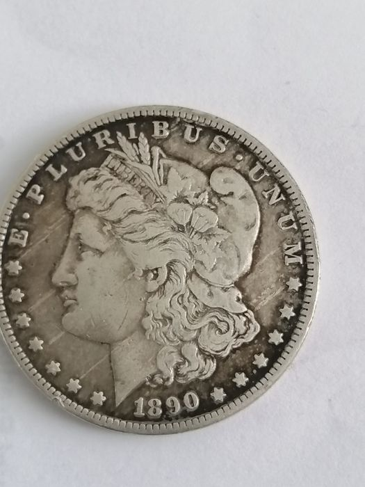 United States - Morgan Dollar 1890-O (New Orleans) - Silver