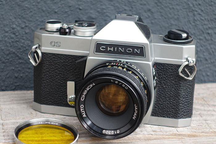Chinon CS met chinon 1:2 50mm