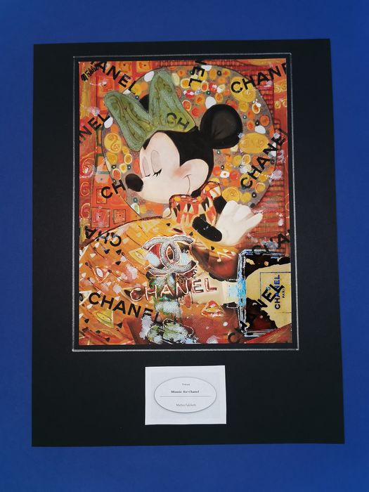 Minnie - original artwork for Chanel - Loose page