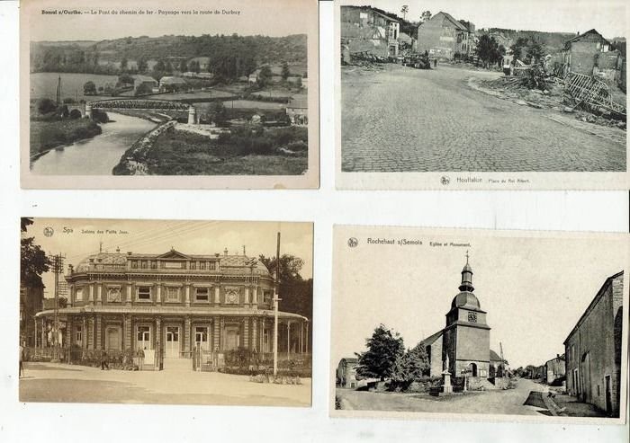 Belgium - City & Landscape - beautiful batch of cities villages landscapes and others - Postcards (112) - 1908