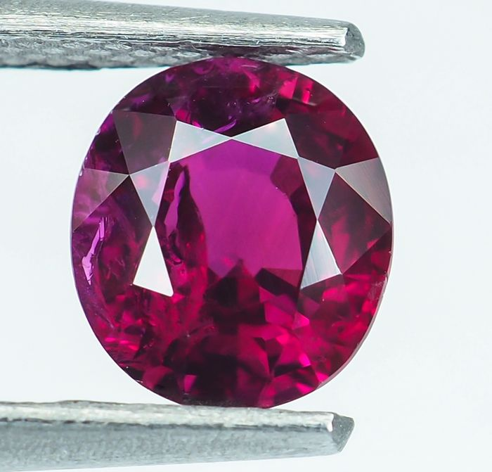 Birmania - Rubí intenso - 1.14 ct
