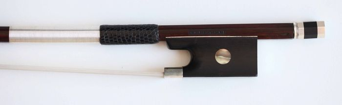 Stamped Peccatte - 4/4 - Violin bow - France - 1900