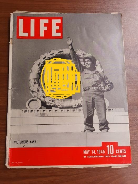 United States - WW2 14 May 1945 Issue LIFE Magazine - Surrender of Germany - Death of Hitler - German Mass Suicides - VE Day - 14 May - 1945