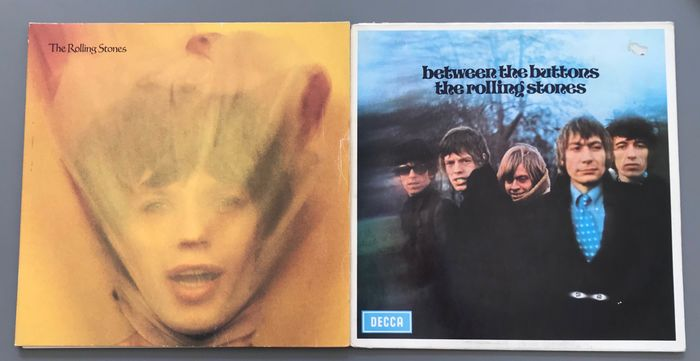 Rolling Stones - Between the Buttons, Goat's Head Soup - LP's - 1967/1973