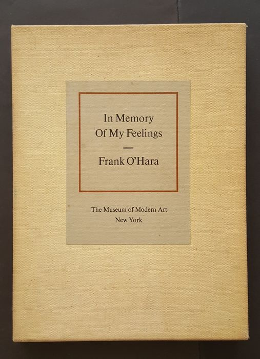 Frank O'Hara, Niki de Saint Phalle, Roy Lichtenstein, etc.  - In memory of My Feelings - 1967