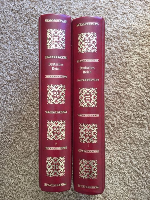 German Empire 1872/1945 - Collection in two Borek albums
