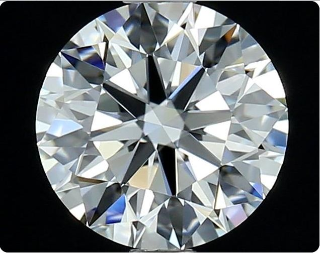 1 pcs Diamond - 1.03 ct - Round - D (colourless) - IF (flawless)