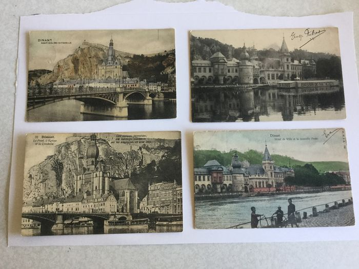 Belgium - The City of Dinant Beautiful Lot - Postcards (Collection of 104) - 1900