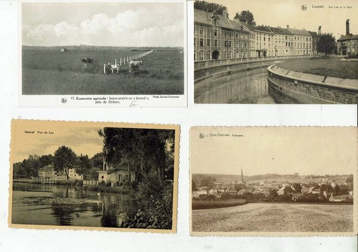 Belgium - City & Landscape - cities villages landscapes and others - Postcards (128) - 1907