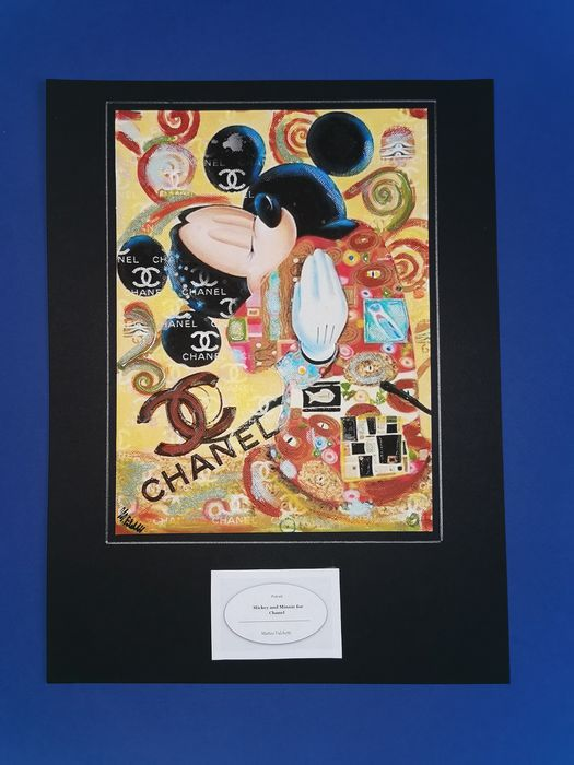 Mickey Magazine - original artwork for Chanel - Loose page