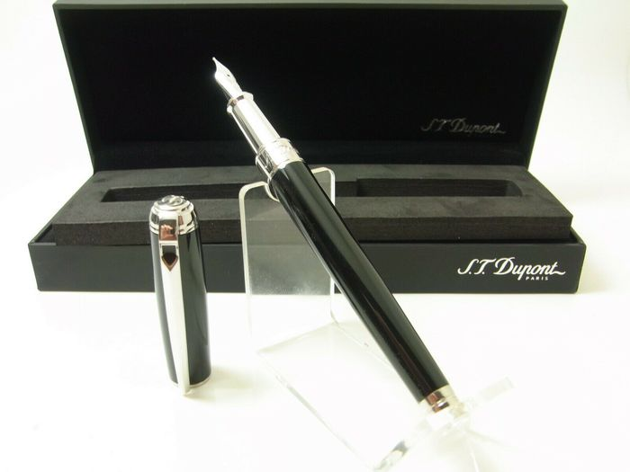 NEW ST Dupont  Line D Medium 14ct M nib 410100M - Fountain pen