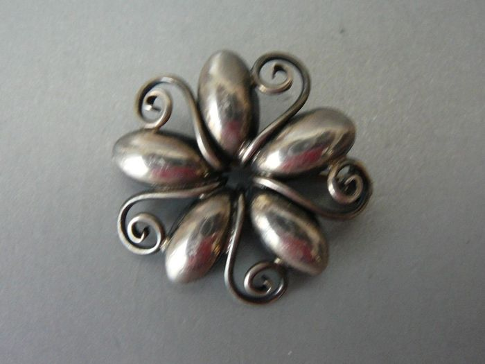Max Standager - 925 Silver - Brooch