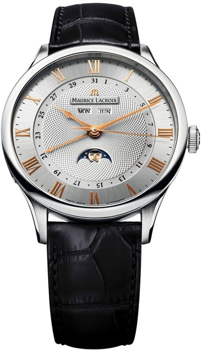 Maurice Lacroix - Masterpiece Phases de Lune - MP6607-SS001-111 - Heren - 2011-heden