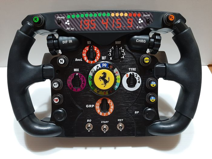 Ferrari - Formula One - Michael Schumacher - 2010 - Replica steering wheel
