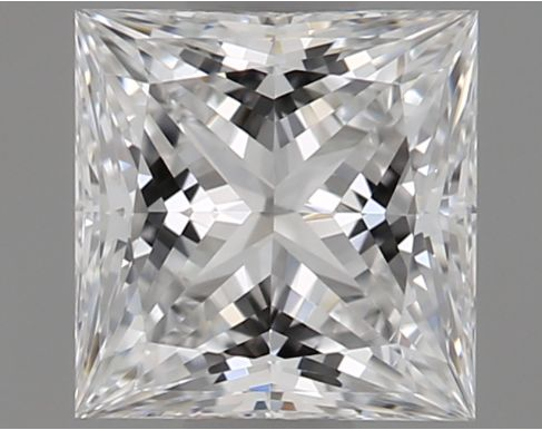 1 pcs Diamond - 0.51 ct - Princess - D (colourless) - VS2