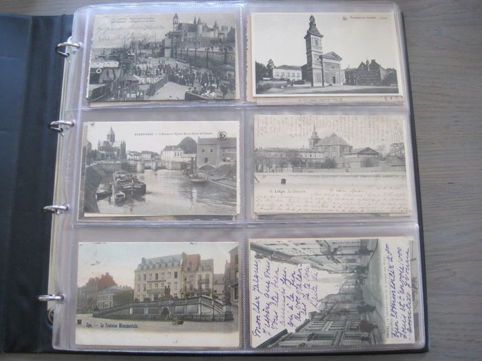 Belgium - towns and villages - Postcard album, Postcards (Collection of 324) - 1900