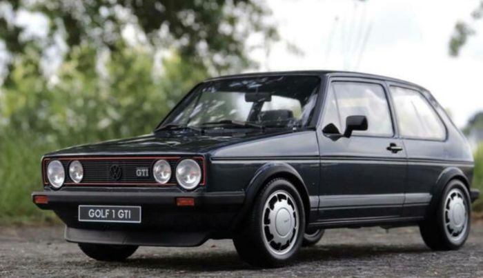 Otto Mobile - 1:12 - 1983 VW Volksagen golf GTI MkI Pirelli 1800 plus - Limited Edition 999pcs