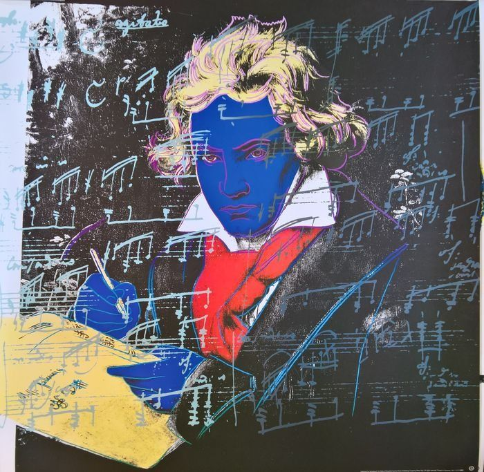Andy Warhol (after) - Beethoven, 1987