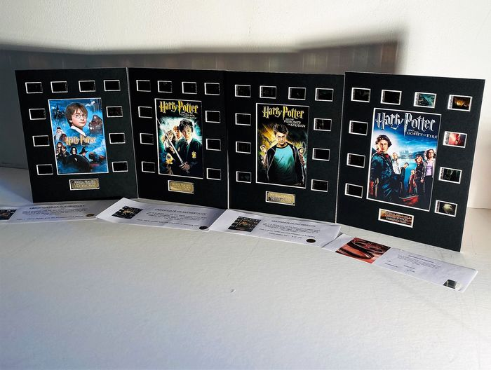Harry Potter -  Lot of 4 -  Film Cell Displays