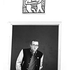 Pierre Houles (1945-1986) - Keith Haring, NYC, 1982.
