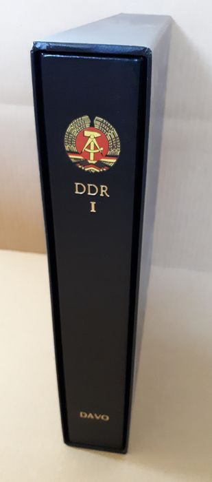 DDR 1949/1965 - Collection in a Davo album