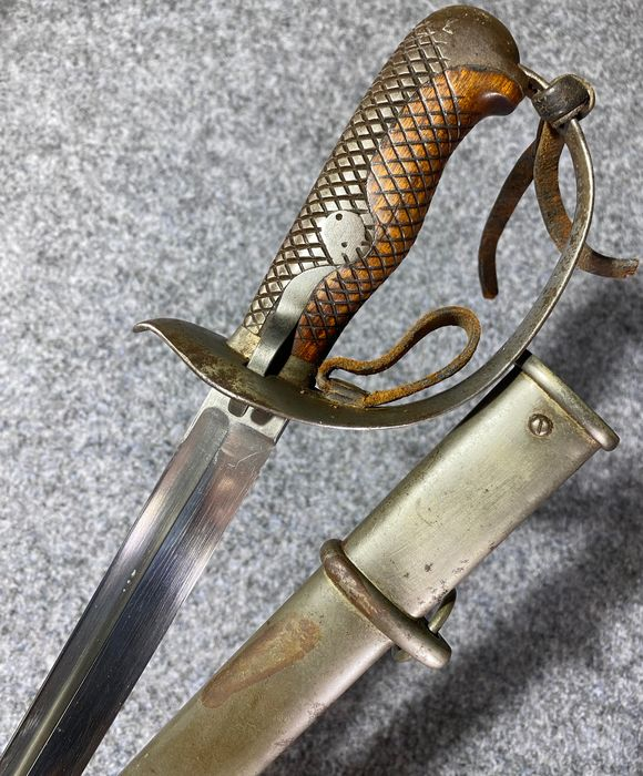 Japan - Japanese Imperial Army Officers Sword - Type 32 - M1899 - WWI / WWII - Excellent Condition - Sword