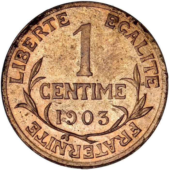 France - 1 Centime 1903 Dupuis - Bronze