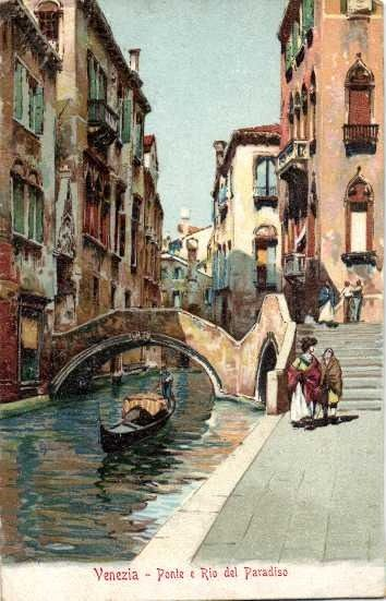 Italie - Venise (avec cartes d'art dont aquarelle) - Cartes postales (Collection de 95) - 1902
