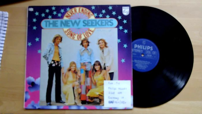 The New Seekers... ao - Multiple artists - Multiple titles - LP's - 1969/1979