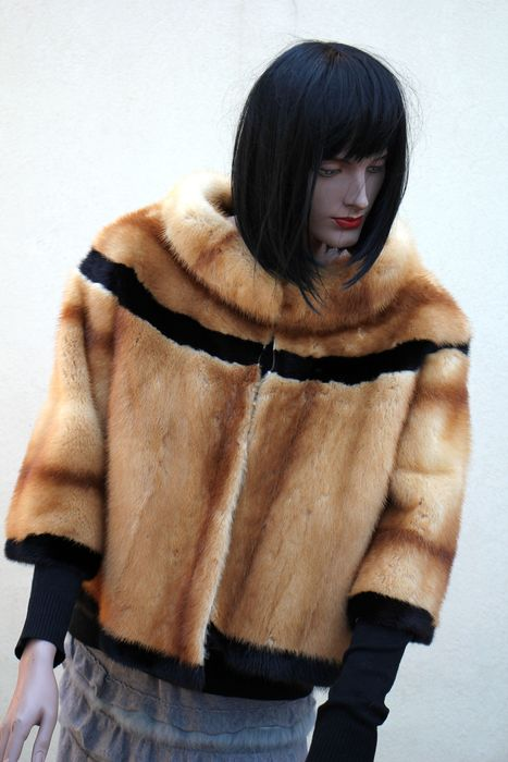 artisian furrier -  made in italy - Mink fur - Fur coat - Made in: Italy
