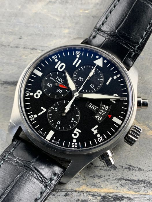 IWC - Pilot Chronograph Automatic - IW377701 - Men - 2011-present