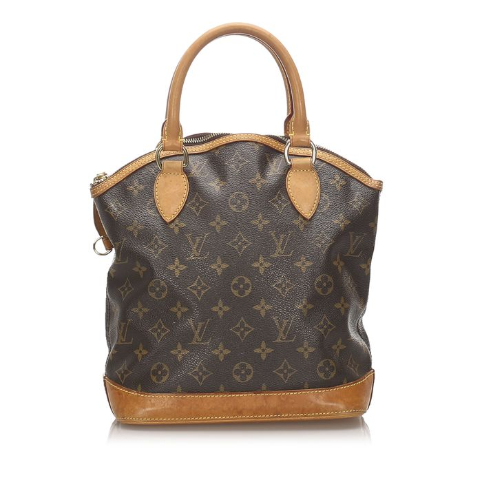 Louis Vuitton - Monogram Lockit Vertical Handbag