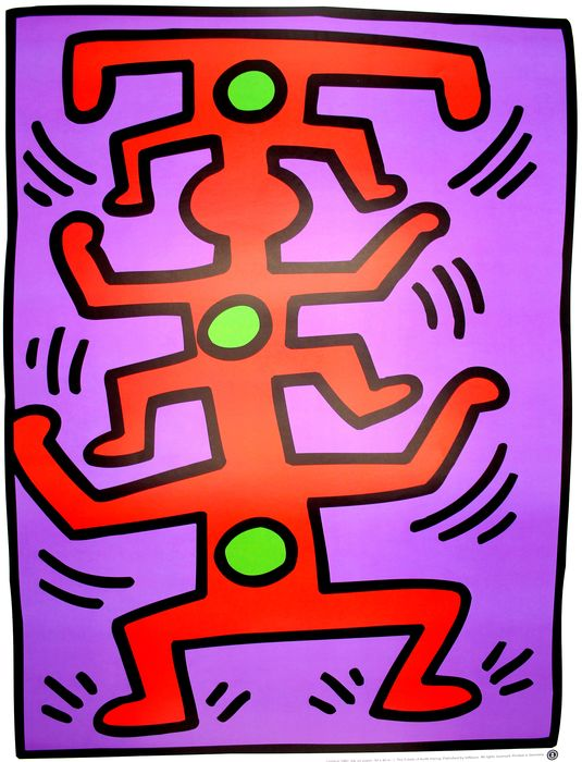 Keith Haring (after)  - Untitled, 1987