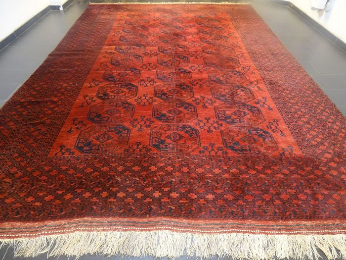 Afghan Art Deco  - Carpet - 460 cm - 310 cm