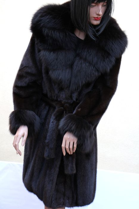 artisian furrier -  made in italy - Fox fur, Mink fur - Fur coat - Made in: Italy