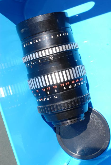 Pentacon Zebra 135mm F2.8 #bokehmonster