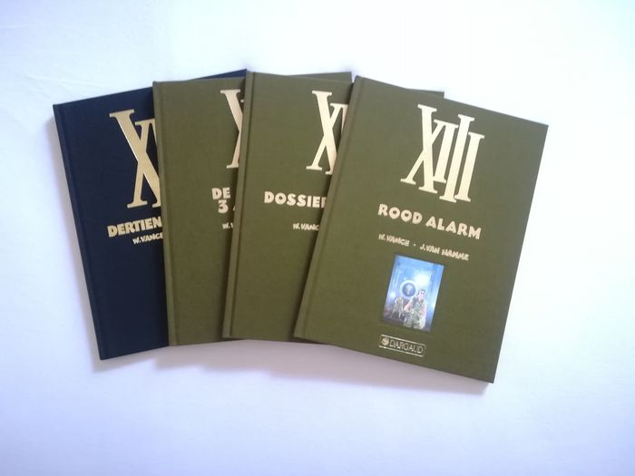 XIII 5-6-7-8 - XII - Hardcover - First edition - (1991/1994)