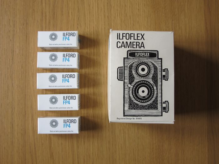 Ilford Ilfoflex 127 camera + film