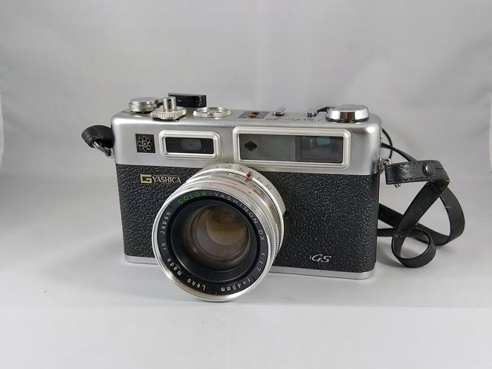 Yashica ELECTRO 35 GSN Set + Lenzen + close up lens