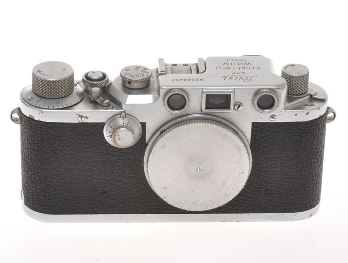 "Leitz Leica IIIC n.506457 only body c.1950, exc- condition, it ""works"""