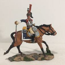 King & Country - Retired & Sold Out - NA117 - Cuirassier Charging - Sword neerwaarts (X) - Unknown