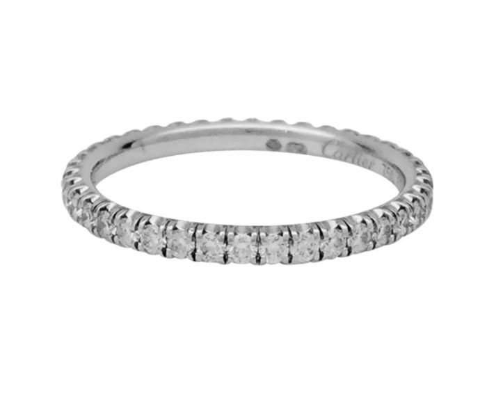 Cartier - 18 kt. White gold - Ring - 0.47 ct Diamond