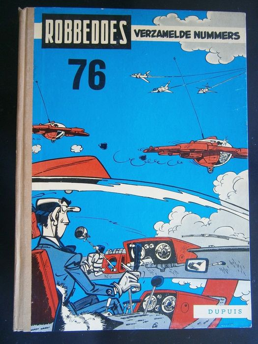 Robbedoes (magazine) - Album 76 - Hardcover - First edition - (1960)